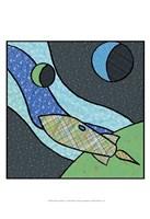 Patchwork Planets I Fine-Art Print
