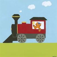 Circus Train I Fine-Art Print