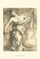 The Muse Erato Fine-Art Print