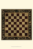 Small Antique Gameboard I (P) Fine-Art Print