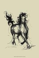 Onyx on Khaki Fine-Art Print