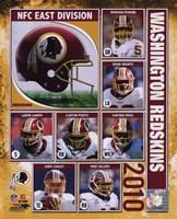 2010 Washington Redskins Composite Fine-Art Print