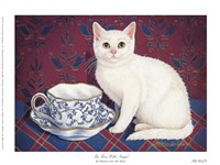 Tea Time With Angel Fine-Art Print