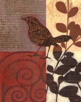 Paisley Sparrow Fine-Art Print