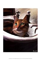 Orange Cat in the Sink Fine-Art Print