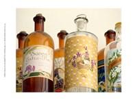 French Perfume Bottles II Fine-Art Print