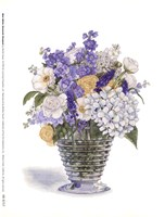 White Ranacule Bouquet Fine-Art Print