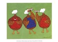 Chef Hens I Fine-Art Print