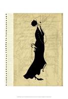 Flapper Fashion II Fine-Art Print