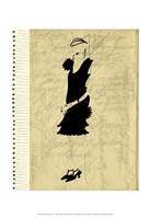 Flapper Fashion III Fine-Art Print