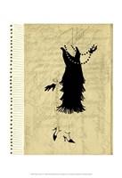 Flapper Fashion IV Fine-Art Print