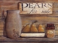 Pears for Sale Fine-Art Print