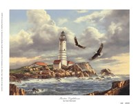 Boston Lighthouse Fine-Art Print