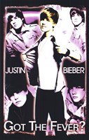 Black Light - Justin Bieber Wall Poster