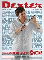 Dexter Sepetmber 2008 Wall Poster