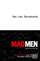 Mad Men - Sex. Lives. Storyboards. Wall Poster