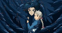 Howl's Moving Castle Howl Hair Scene Fine-Art Print