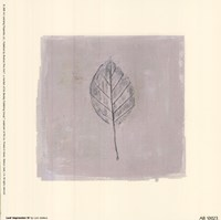 Leaf Impression lV Fine-Art Print