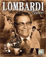 Vince Lombardi 2010 Portrait Plus Fine-Art Print