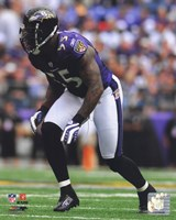 Terrell Suggs 2010 Action Fine-Art Print