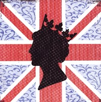 Union Jack Queen Fine-Art Print