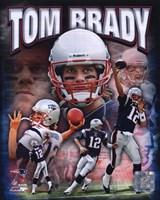 Tom Brady 2010 Portrait Plus Fine-Art Print