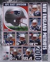 2010 New England Patriots Team Composite Fine-Art Print