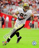 Jeremy Shockey 2010 Action Fine-Art Print