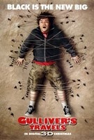 Gulliver's Travels - man strapped to the floor Wall Poster