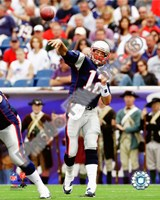 Tom Brady 2010 throwing Fine-Art Print