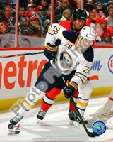 Paul Gaustad 2010-11 Action Fine-Art Print
