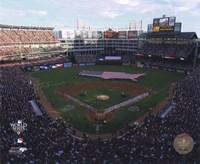 Rangers Ballpark in Arlington Game Three of the 2010 World Series Fine-Art Print