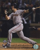 Buster Posey Game Four of the 2010 World Series Home Run Fine-Art Print