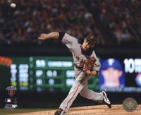 Tim Lincecum Game Five of the 2010 World Series - Baseball Fine-Art Print
