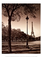 An Afternoon Stroll - Paris I Fine-Art Print