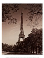 An Afternoon Stroll - Paris II Fine-Art Print