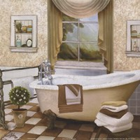 French Bath II Fine-Art Print