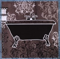 Black & White Tub III Fine-Art Print
