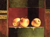 Apples, Deco II Fine-Art Print