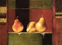 Pears, Deco IV Fine-Art Print
