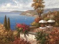 Mediterranean Patio Fine-Art Print