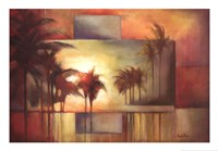 Tropical Realm I Framed Print