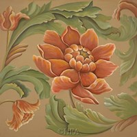 Baroque Flower I Fine-Art Print