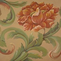 Baroque Flower II Fine-Art Print