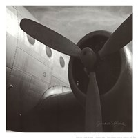 Vintage Flight III Fine-Art Print