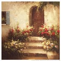 Rustic Doorway I Fine-Art Print