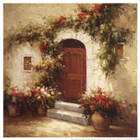 Rustic Doorway IV Fine-Art Print