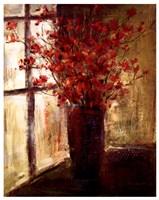 Vase of Red Flowers Fine-Art Print