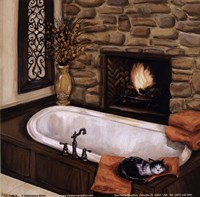 Fireplace Escape I Fine-Art Print