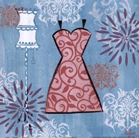 Pink Dress Fine-Art Print